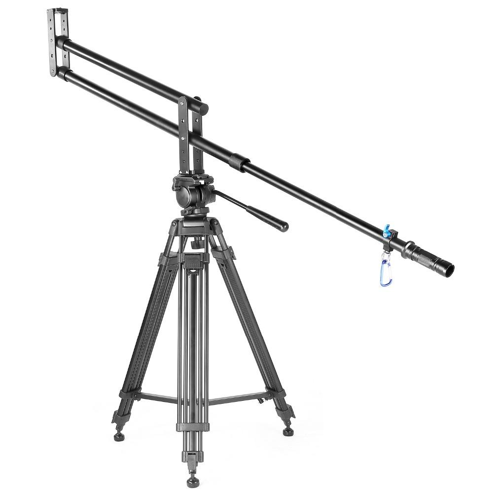 YELANGU de aleación de aluminio de 2 <span class=keywords><strong>m</strong></span> J1 de la Cámara de pluma de grúa para cámara DSLR