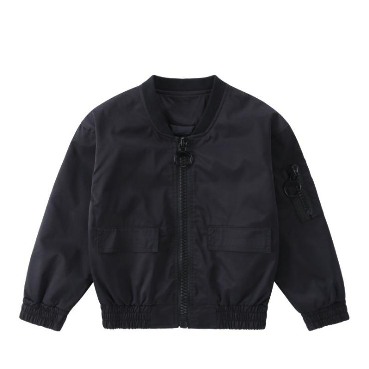 2018 осень зима мода логотип настройки детская одежда хлопок мальчик куртка