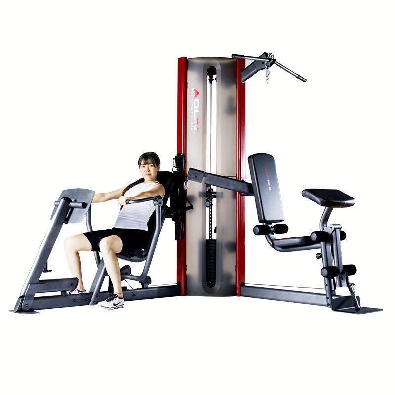 Uso de equipamentos de fitness dupla <span class=keywords><strong>estação</strong></span> de <span class=keywords><strong>força</strong></span> ginásio multi máquina <span class=keywords><strong>da</strong></span> imprensa