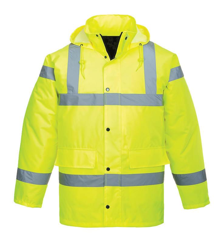 Hi-Vis светоотражающая защитная одежда офицер полиции униформа безопасности куртка