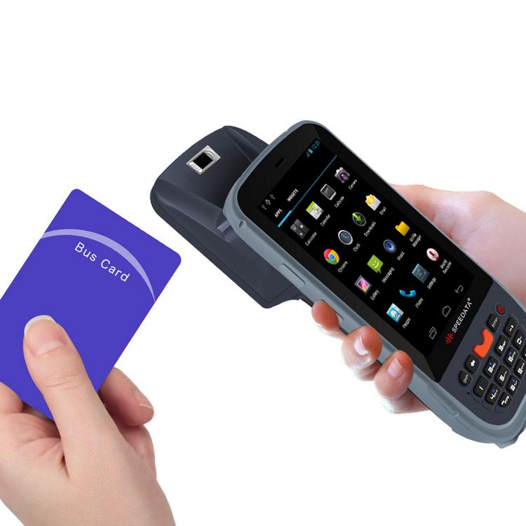 강력한 야외 무선 안드로이드 PDA LF 휴대용 RFID <span class=keywords><strong>리더</strong></span> 125KZH 생체 인식 지문 판독기