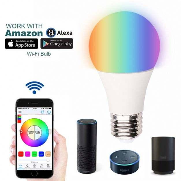 Vente chaude 9 W 10 W 12 W LED Ampoule Lampes Aucun Hub Zigbee Light Link Ampoule