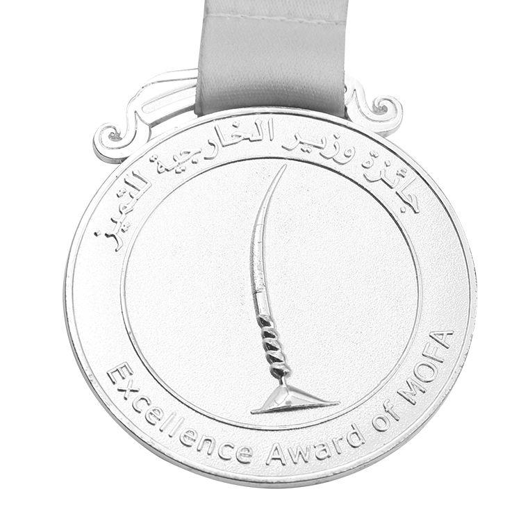 卸売カスタムパーソナライズされたダイカスト金属ブランクゴールドメダル