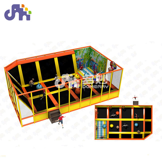 SGS & CE certifié Guangzhou en gros intérieur extérieur enfants <span class=keywords><strong>parc</strong></span> de trampoline intérieur