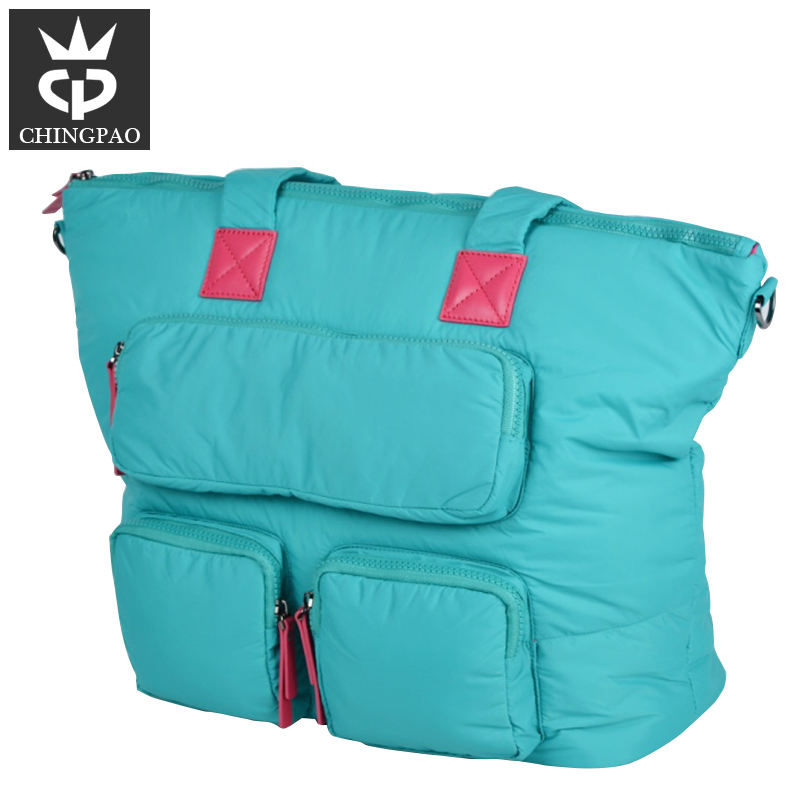 Durável grande tote designers mommy bebê adulto portátil molhado saco de fraldas bolsa oem