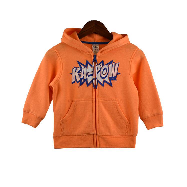 Новый дизайн Мужская футболка custom полотняная ткань и кенгуру карман для мальчиков молния hoodie