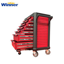 WKH07 Hot Sale Roller Tool Trolley for Tool Storage with Safe Interlock