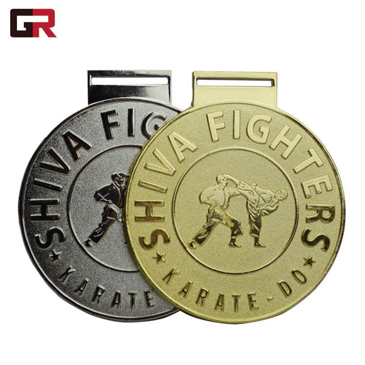 Zamak escuela su propio Metal Premio tazas de China 5 K de aleación de Zinc de <span class=keywords><strong>latón</strong></span> <span class=keywords><strong>bronce</strong></span> Taekwondo medalla
