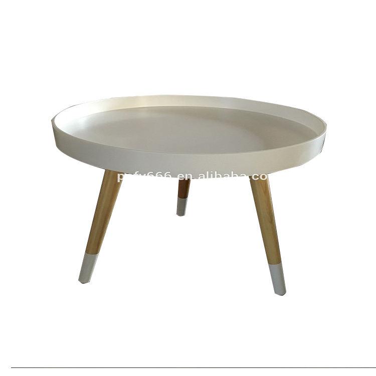 Funiture casa pallet rodada mesa de centro de madeira moderna para sala de estar