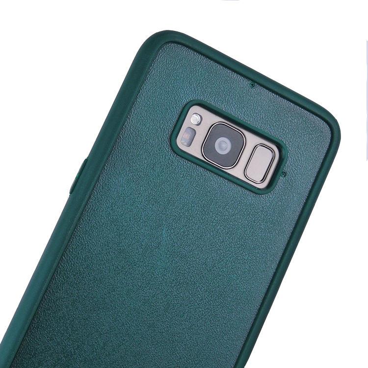 Custom Green 빈 키 빈 2D 홈 볼 봉인 PC + TPU Back Cover 대 한 Samsung Galaxy S8 plus 건