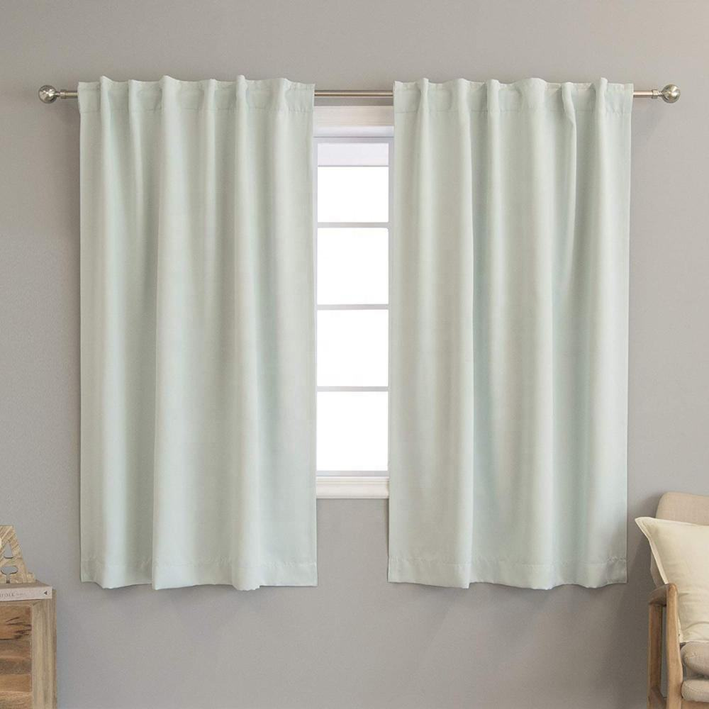 Venda quente para casa de estilo mediterrâneo cortinas black out tecido para sala de estar