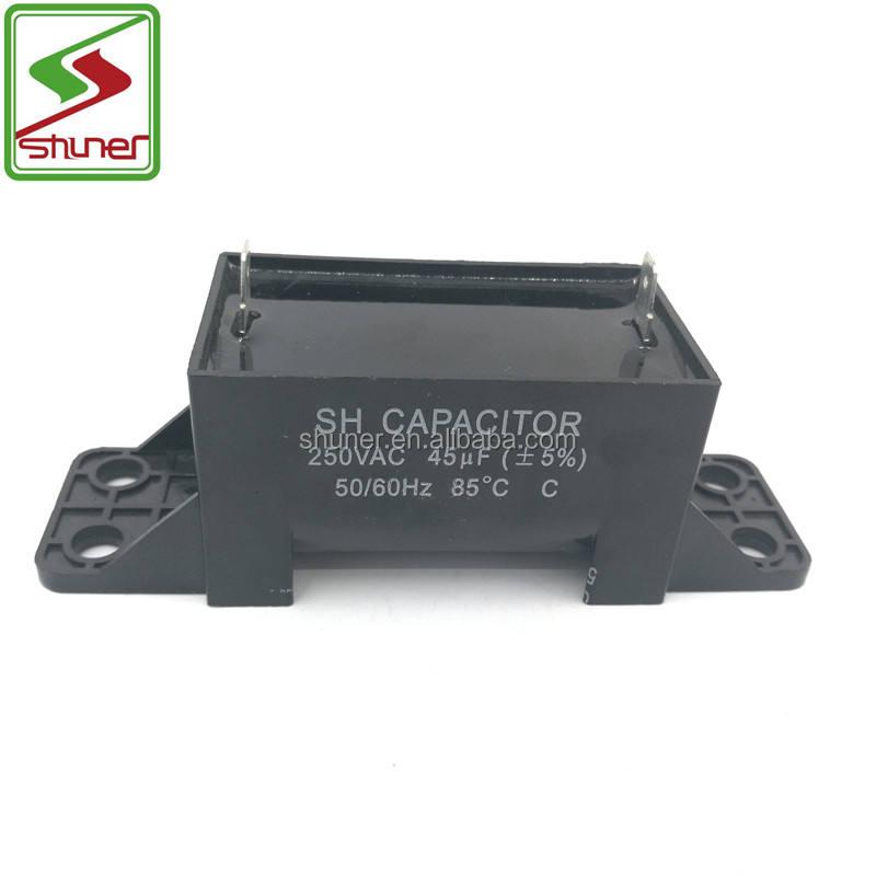 Preço de Fábrica CBB60 SHUNER 45 uf Capacitor/Peças Da Máquina de Lavar