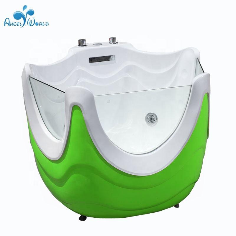 Portátil transparencia bebé bañera de acrílico bebé piscina jacuzzi
