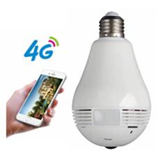 3 グラム/4 グラム Sim カード電球 ip wifi 隠しセキュリティカメラ
