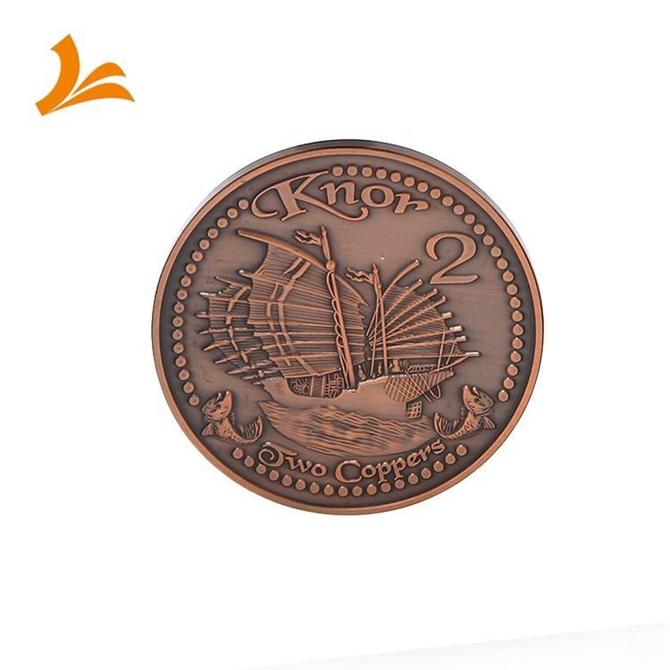 Latón morir golpeado anti-cobre 3D 1,<span class=keywords><strong>75</strong></span> pulgadas 3,0mm monedas de desafío
