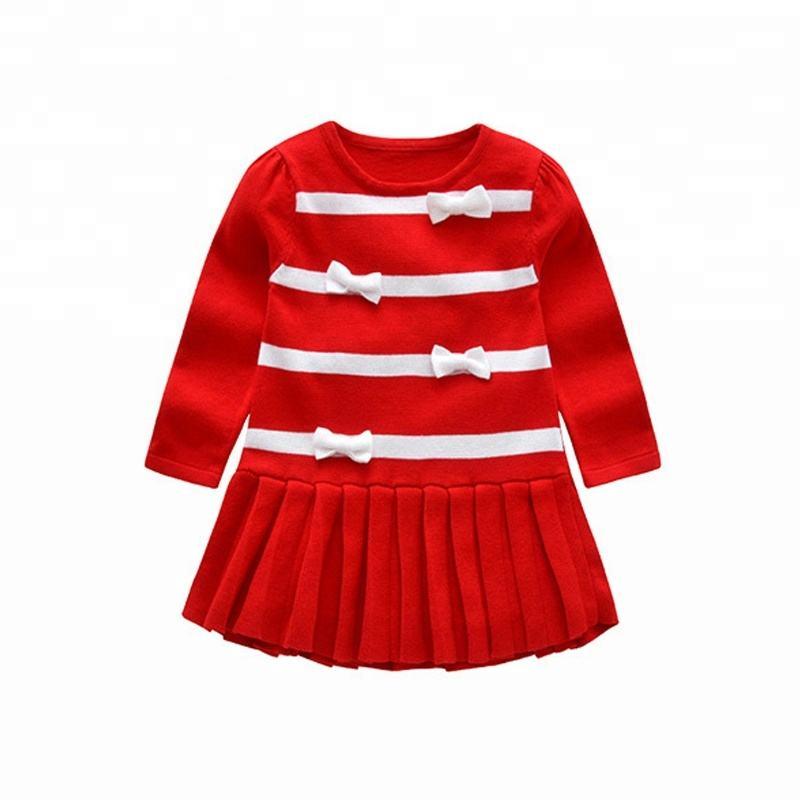 Новое поступление на заказ Лидер продаж зимняя одежда для маленьких девочек свитер дизайн маленьких обувь
