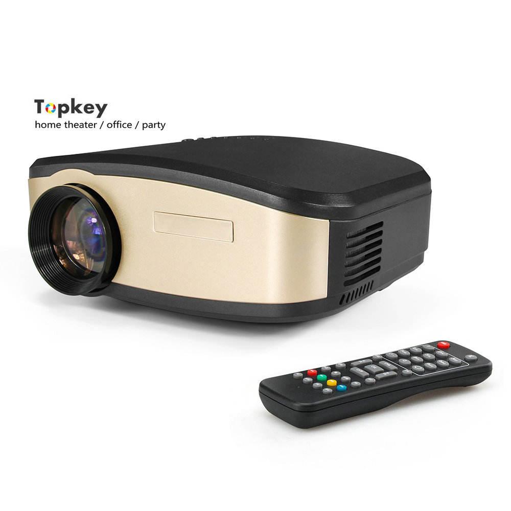 2018 mejor venta móvil inteligente Full HD 1080 p del teatro casero Mini proyector para juegos de vídeo de la película de la TV