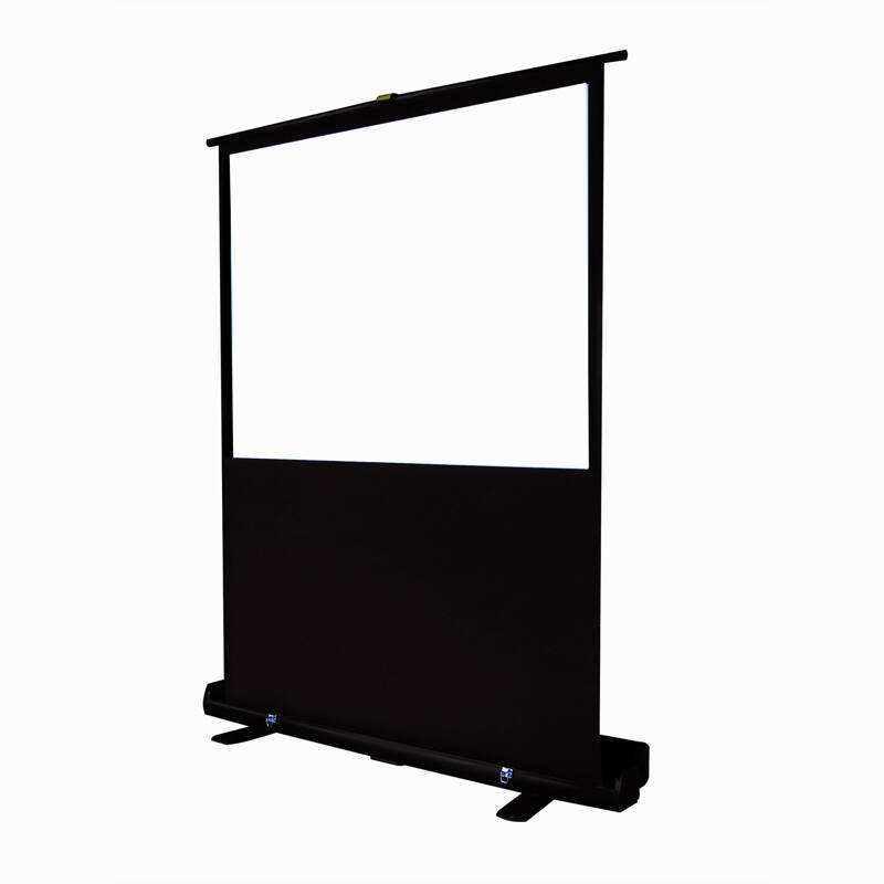 Buona qualità 16 9 outdoor matt white <span class=keywords><strong>double</strong></span> side portatile veloce pieghevole schermo di proiezione