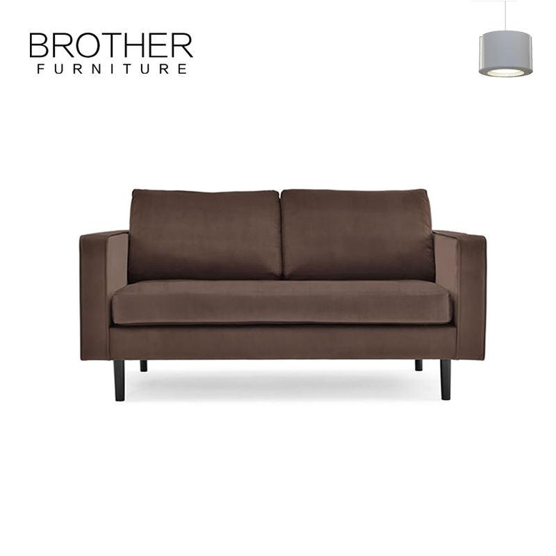 Al por mayor antigua cubre espalda alta sofá de dos plazas
