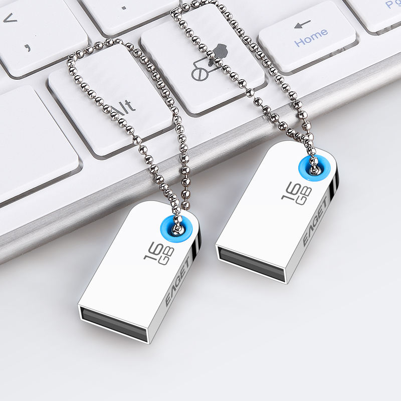 Eaget U9L USB2.0 16 GB USB флэш-накопители пыле Портативный USB диск внешних накопителей Flash drive
