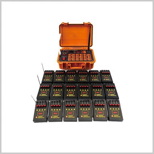 72 canaux émetteur télécommande 18 pièces 4 queue feux d'artifice système <span class=keywords><strong>de</strong></span> tir