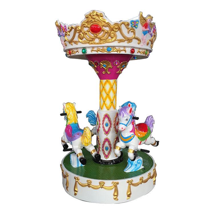 Thema <span class=keywords><strong>park</strong></span> 3 sitze Engel kiddie fahrt mini karussell pferd für verkauf