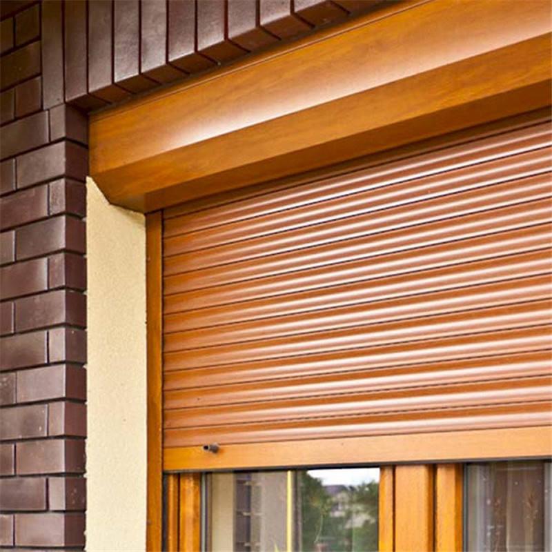 Al aire libre rodillo de <span class=keywords><strong>ventana</strong></span> persianas rollo huracán persianas