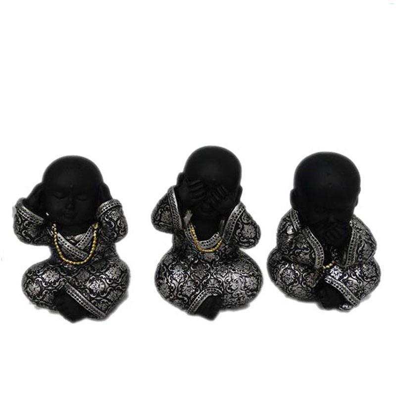 Resina al por mayor pequeño bebé lindo ornamento <span class=keywords><strong>Buda</strong></span>