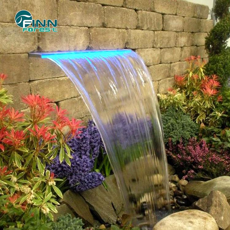 풀 Fountain Spa Stainless 풀 Lion Head 풀 한 돌 벽 폭포 Fountain