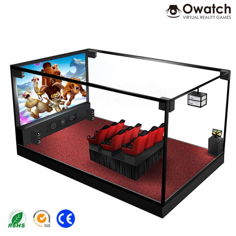 Comercio aseguramiento realista interactiva camión móvil 5d cine asientos de lujo 5d teatro