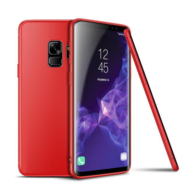 심천 공장 Cafele Matte Soft TPU Phone Case 대 한 Samsung Galaxy S9/S9plus