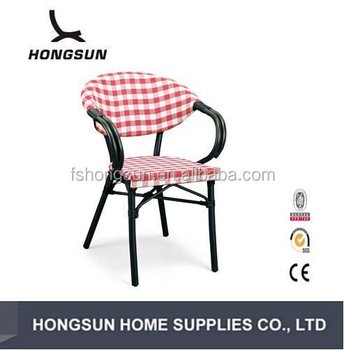 2017 популярные бамбука взгляд открытый алюминиевая рама кресла