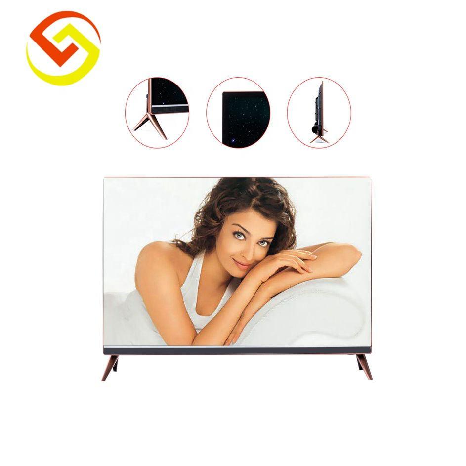 Vente chaude classe TV SKD TV Populaire 39 ''E a MENÉ LA télévision avec cadre Étroit conception et USB <span class=keywords><strong>jeu</strong></span> vidéo avec <span class=keywords><strong>DVB</strong></span> T2