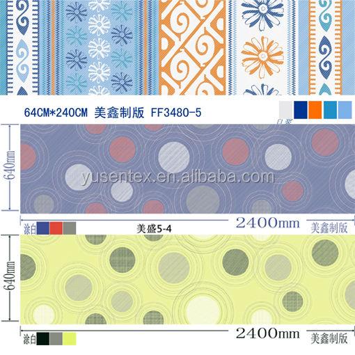 Chang <span class=keywords><strong>xing</strong></span> Yu sen impresso tecido de poliéster para a folha de cama set