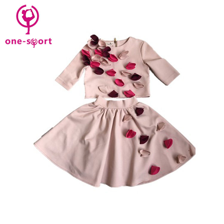 新デザインの卸売子供スカートスーツ、子供少女のラテンダンスのドレス