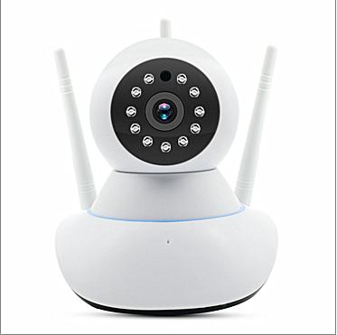 <span class=keywords><strong>Caméra</strong></span> de surveillance sans fil 720 P HD WIFI maison intelligente 360 degrés rotation