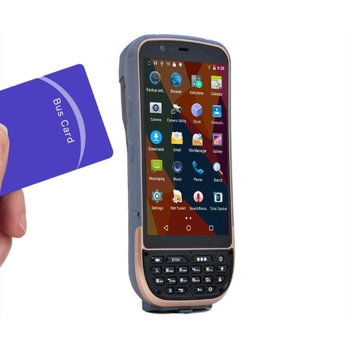 16 기가바이트 ROM 2 기가바이트 RAM 견고한 KT50 안드로이드 5.1 PDA RFID 핸드 헬드 <span class=keywords><strong>리더</strong></span> LF/UHF/HF 함께 4 그램 LTE 통화 전화 특징, GPS 위치