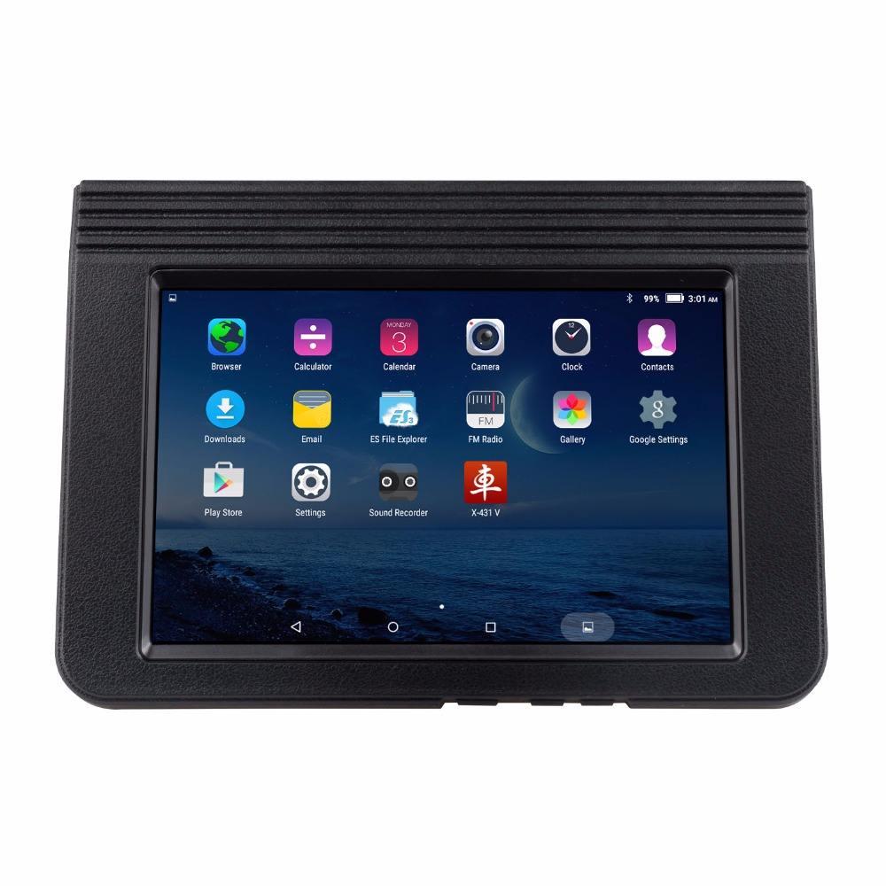 <span class=keywords><strong>Запуск</strong></span> X431 V большой экран 8 дюймов планшет Wifi/Blutoth полная система диагн