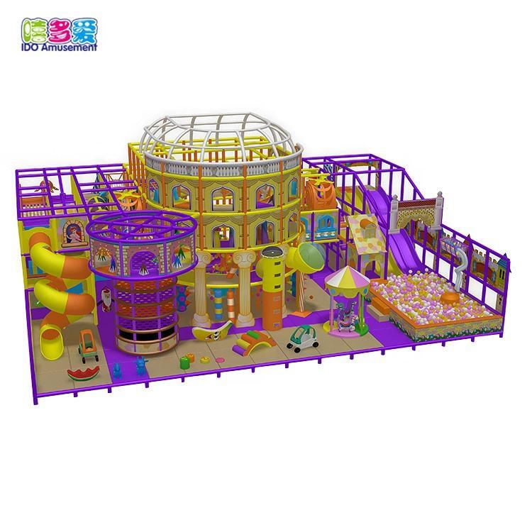 Toptan Çocuk Eğlence Parkı Ekipmanları Kapı Oyun Alanı