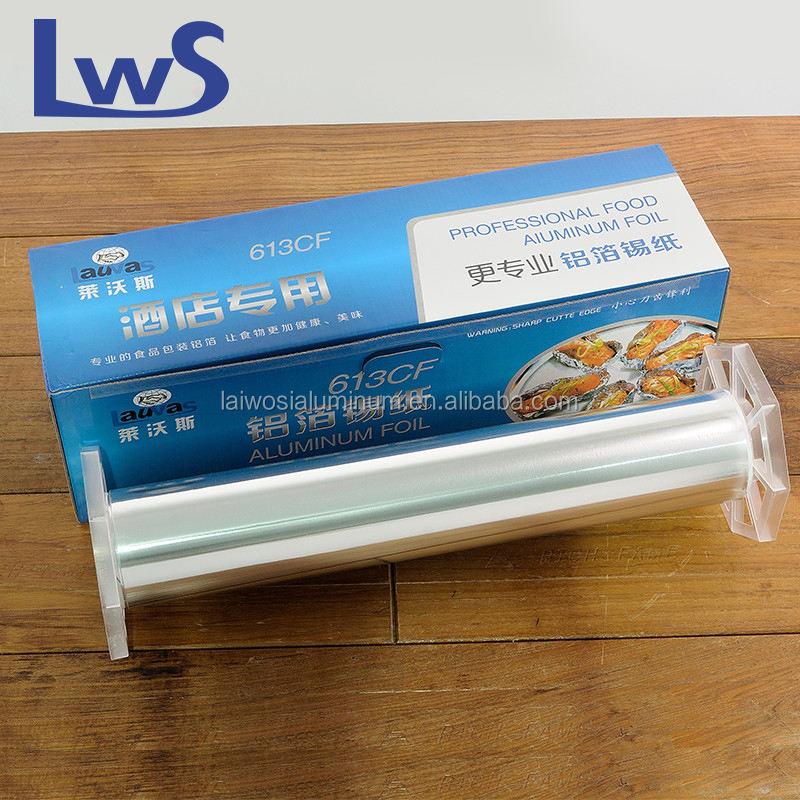Бытовой алюминиевой фольги для кухни использования и барбекю бумага, алюминиевая фольга