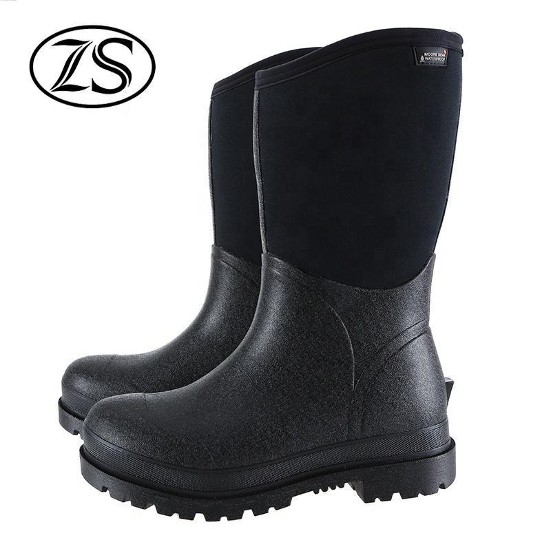 El clima frío impermeable botas cómodas zapatos <span class=keywords><strong>de</strong></span> seguridad