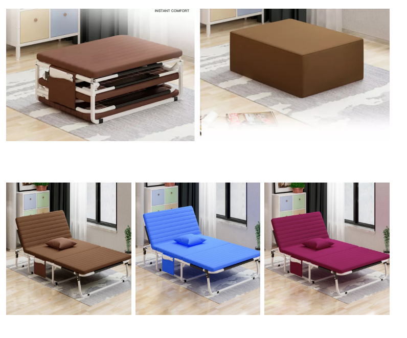 Murphy space saving noiseless comfortable folding sponge sofa bed used in office/hosipital