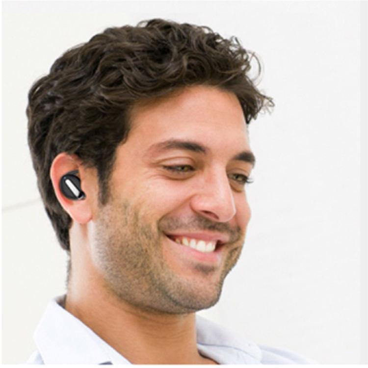 <span class=keywords><strong>Negro</strong></span> diente azul 5,0 Touch Control verdad auriculares estéreo TWS auricular inalámbrico mini auricular