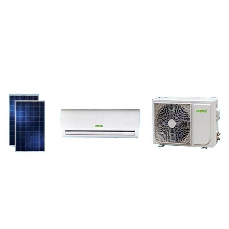 Nuevo sistema solar ahorro split 18000 BTU ACDC en inversor acondicionador de aire solar