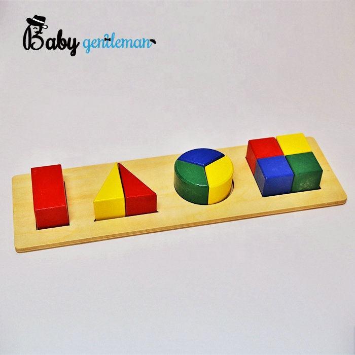 Top moda infantil de madeira montessori materiais de matemática com hihg qualidade Z12009F