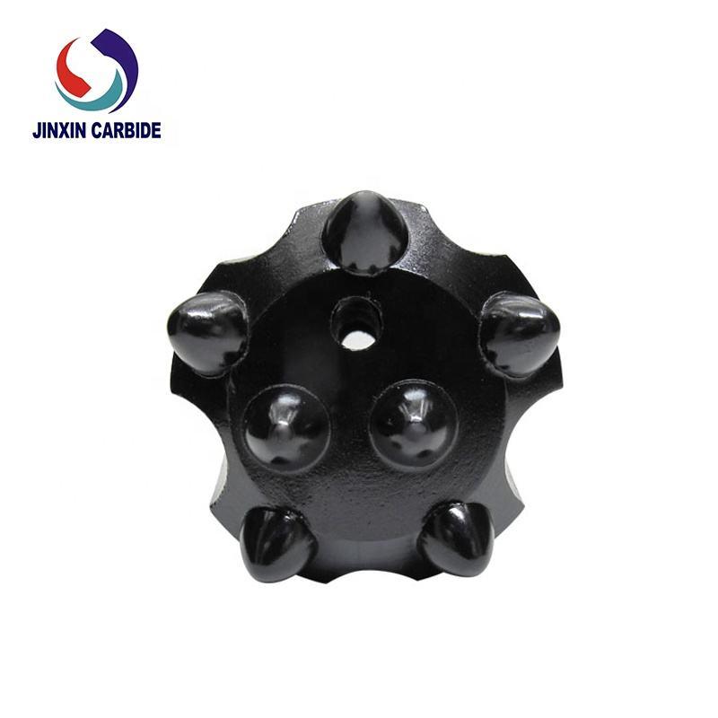 Conjunto de carboneto do núcleo duro cônico bit broca de martelo fio máquina de moer copos botão dhl