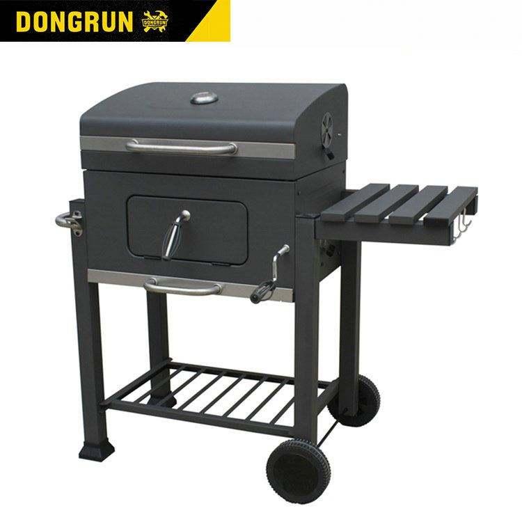 Com Premium 야외 뒤뜰 흡연자 숯 바베큐 BBQ 그릴