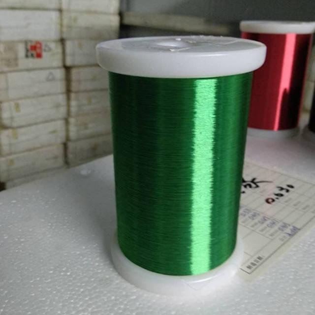 Precio barato de alta calidad Super 99.99% de cobre puro de poliesterimidas cobre esmaltado de Ronda alambre