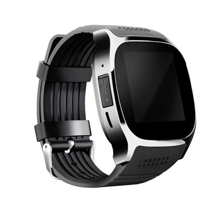El mejor vendedor de la Cámara teléfono inteligente reloj GSM inteligente deporte actividad rastreador Bluetooth pulsera