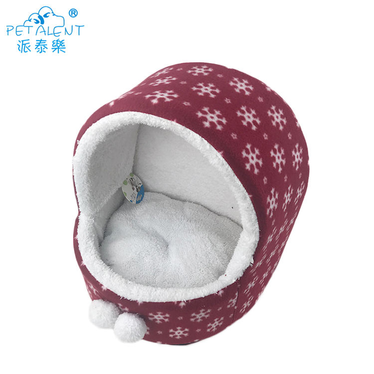 휴. 눈 (eiffel tower) 패턴 개 침대, 아름다운 Pet 동굴 둥지